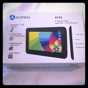 "7"" Android Tablet(A743) Quad Core 1.3 GHz"